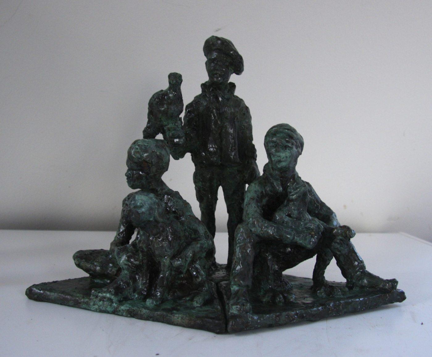 3 Drenge, ed. 8, h 30cm