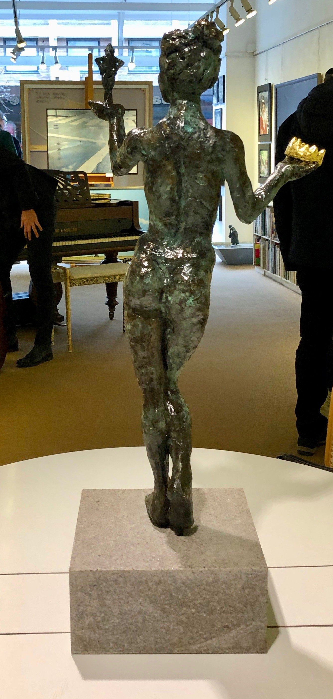 bronze sculpture figurative art