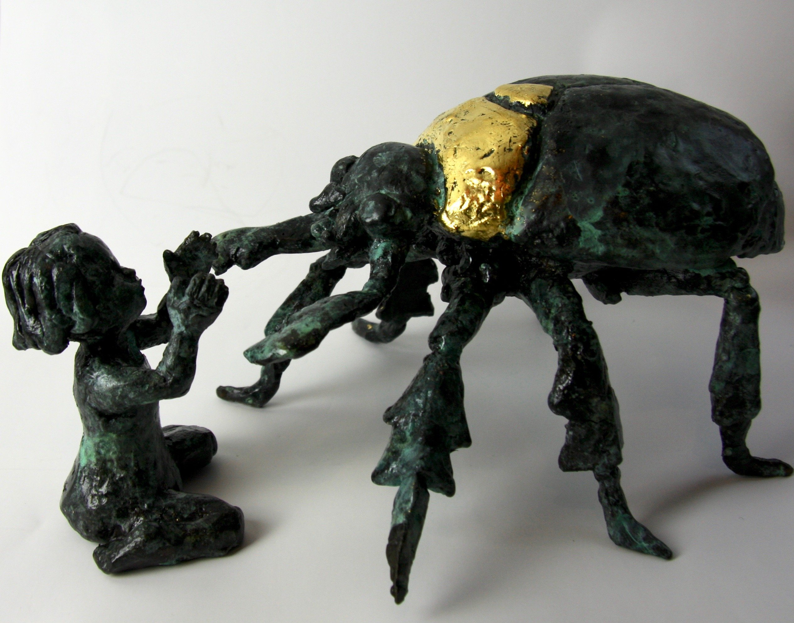 Bronze Sculpture Magic Realism Metamorphosis Kafka